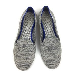 Rothys gray loafer flats slip on Birdseye